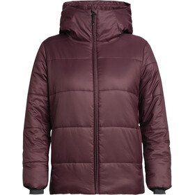 Icebreaker Collingwood Hooded Jacket Women velvet